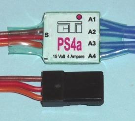 CTI PS4a mini MULTI-SWITCH  4-kanaals -4Amp op 1CH