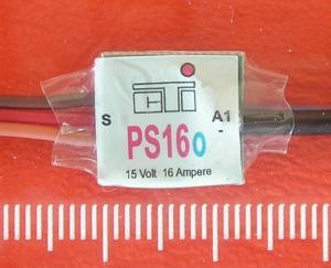 CTI PS16o mini MULTI-SWITCH  1-kanaal van 16Amp op 1/2CH