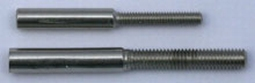 Soldeerhuls M2 voor kogel of gaffelkop t.b.v. draad 2mm  Envelop