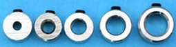 Stelring voor 4,2mm as (8x5mm) 1,5gram stuurstang Servo  Envelop