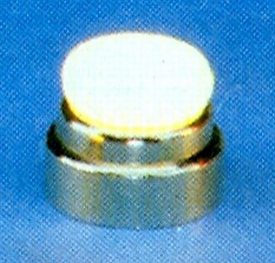 Graupner 351 deklamp Nikkel 12mm met lamp 5 stuks