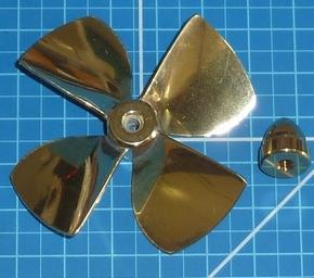 4 Blad afgetopte schroef 70mm M5    149 serie  Envelop