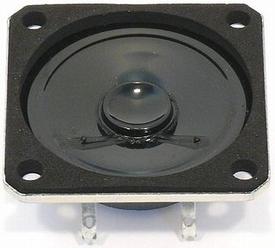 Visaton K 50 SQ   8 OHM  3Watt 45mm Art. No. 2897  Pakket