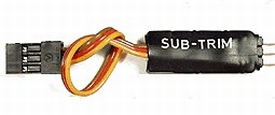 Simprop Servo SUB-TRIM / BOOSTER modul nr. 0110817  Envelop