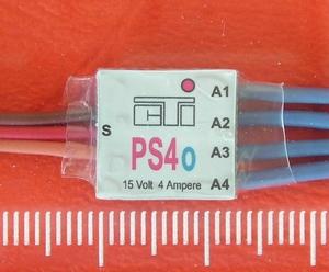 CTI PS4o mini MULTI-SWITCH  4-kanaals -4Amp op 1/2 CH