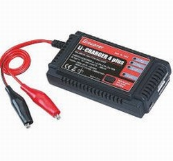 Graupner Li- Charger 4 Plus LiPo/LiIo/LiFe 3 Amp  nr. 6462  Pakket