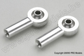 Aluminium bolgewricht M4 (2st)  nr.  GF-2146-004