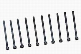 Graupner inbusbout staal zwart M3x45mm pack of 10 nr. 565.45