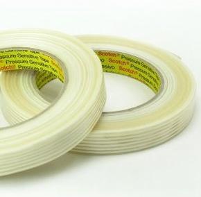 3M Glasvezel Tape langsrichting 15mm x 50 meter   nr. 3M