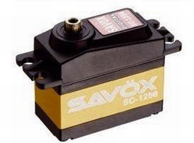 Savöx SC-1256TG Digitale Coreless servo 20kg en 0,15 sec/60°  Pakket