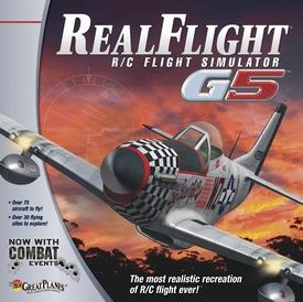 RealFlight G5 RC Flight Simulator with 8ch Controller.  Pakket