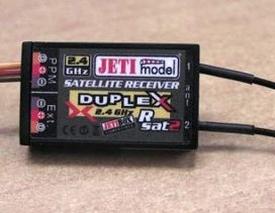 Jeti Satelliet voor Duplex 2,4GHz  nr. JDSAT2  Envelop