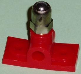 Graupner Aslager voor 4mm as met smeernippel nr. 357-1 p/s