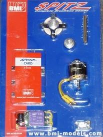 BMI Brushless SPITZ COMBO .10+ESC 25A , 85582  Pakket