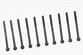Graupner inbusbout staal zwart M3x40mm pack of 10 nr. 565.40