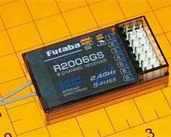 Futaba R2006GS 2.4 GHz FHSS receiver P-R2006GS