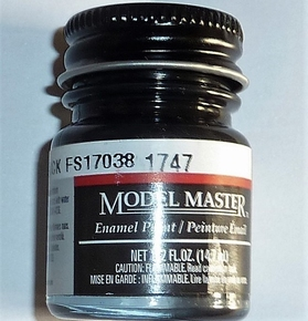 Billing Boats Verf BB11  BLACK GLOSS Fles 14,7ml  MMA-1747  Pakket