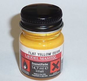 Billing Boats Verf BB13 Trainer Yellow Fles 14,7ml BC#013  Pakket