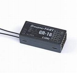 Graupner GR-16 HOTT 8 channel ontvanger nr. 33508