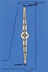 Graupner 3519  Umlenkhebel für T-Leitwerk T-Tail