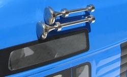Carson 907096  1:14 Truckfanfaren-Set lang/kurz metaal