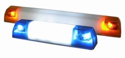 Pistenking  Lichtbalk KLEIN 2xZW, Geel 4-12V , 1:16  Envelop