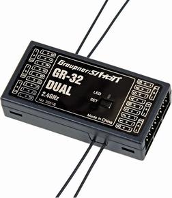 Graupner GR-32 HOTT 16 channel ontvanger nr. 33516  Pakket