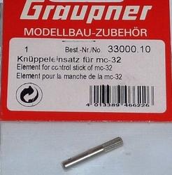 Graupner 33000.10  Knuppel houder MC32 stift  1st