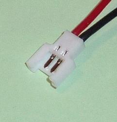 Accukabel Contra WALKERA 1S LiPo Silicon 0,25mm 10CM  Envelop