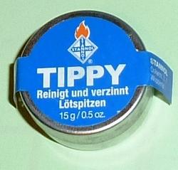 TIPPY reiniging en vertint soldeerpunt. 35015  Envelop