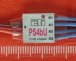 CTI PS4bU mini MULTI-SWITCH  US-look knipperlicht op 1CH  Envelop