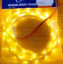 BMI 81273 Ledstrip Geel  3M superBright 60xLed 1meter 12V-3S