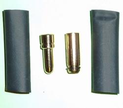 Goldplug 5mm Pro 200 Amp massief Super verguld 0,1µm