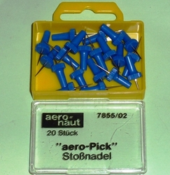 Aeronaut Stopnaalden, AERO-PICK 20x pins, nr. AE7855-02