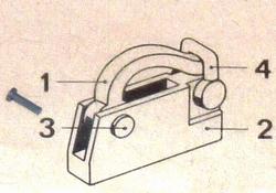 Graupner 674 Stopper voor kabel 1 stuks