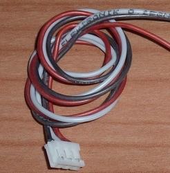 Balanceer aansluiting 2S EH stekker 30cm siliconen 58450