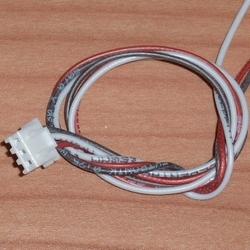 Balanceer aansluiting 2S XH stekker 30cm siliconen 58474