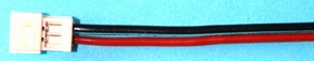 Accu aansluiting ZH Contra 2 polig 0,14 PVC 30cm lang 48415  Envelop