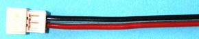Accu aansluiting ZH Contra 2 polig 0,14 PVC 30cm lang 48415