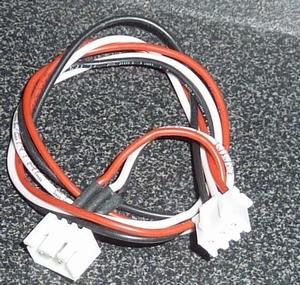 Balanceer Verleng Kabel 30cm 3x0,25mm2  XH 2S LiPo nr. 58482  Envelop
