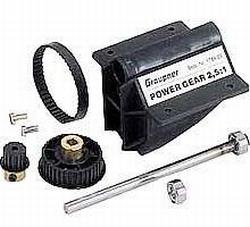 Graupner 1784.25 Power Gear 2,5:1 Speed 500-700