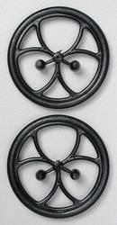Dubro 150ML Micro Lite Wheels  38mm  1-1/2