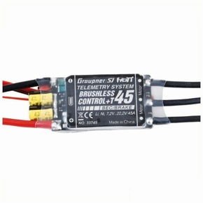 Graupner 33745.XT60 BRUSHLESS CONTROL + T 45 XT60 plug
