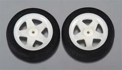 Dubro 123MS Micro Sport Wheels 31mm 1,1gram each (2)
