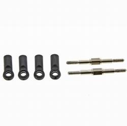 Graupner 90157.110 stuurstang M3 instelbaar 25-35mm 2st