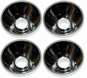 Emcotec Led Reflector 18mm voor 5mm led , 4stuks OPT4065