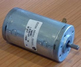 Bühler 12-24 VDC Motor  12V-2000 toeren , ZONV-13  Pakket