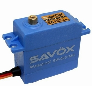 Savox SW-0231MG Digital Waterproof Servo (0.17s/15kg-cm)  Envelop