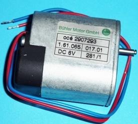 Bühler 3-12 VDC zij vertragingsmotor ZIJV-06  Pakket