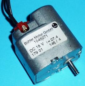 Bühler 6-24 VDC zij vertragingsmotor ZIJV-15